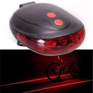 2011 brand new Bike Bicycle Laser Light Beam Rear LED Tail Light Lamp