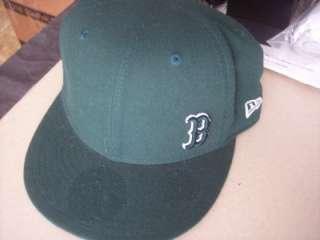 Boston Red Sox B Green New Era 59Fifty Baseball Cap Hat