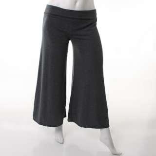 Misses Size S M L Long Boho JERSEY PALAZZO PANTS Wide Leg Comfortable