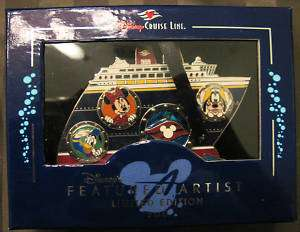 Disney DCL Featured Artist 2006 All Aboard 3D Pin