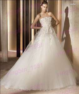 Ivory Bridesmaid/Wedding Prom Gown Custom Size2 4 6 8 10 12 14 16 18