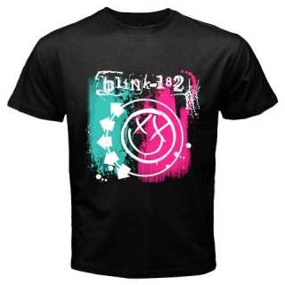 New Blink 182 Rock Band Black T Tee Shirt S XL #4
