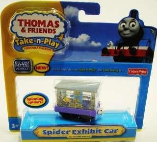 THOMAS & FRIENDS TAKE N  PLAY SPIDER EXHIBIT CAR