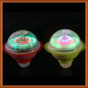 Flash LED Light Gyroscope Gyro Spinning Top Child Toy Christmas