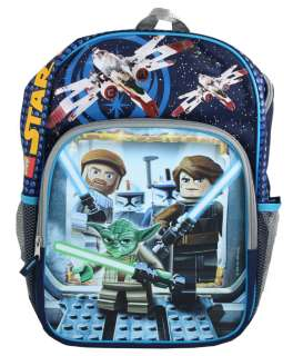LEGO STAR WARS THE CLONE WARS YODA 16 BACKPACK 3D LANTICULAR