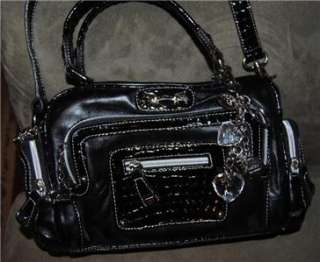Kathy Van Zeeland Handbag Shoulder Bag Tote Bag Black Brand New
