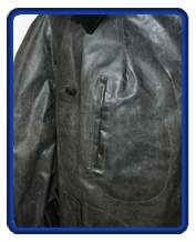 WW2 German Rubberized Motorcycle Coat (Kradmantel) M