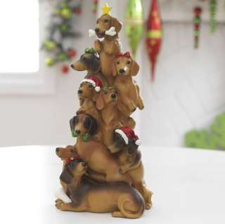 RAZ Imports Dachshund Dog Christmas Tree Ornaments na 3016435