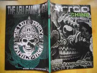 Tattoo Flash Magazine Sketch 11 Leus Family FILIP LEU Iron