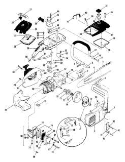 McCulloch Chainsaw Parts Diagram on PopScreen