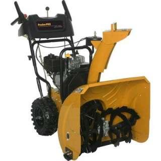 Poulan Pro 24 in. wo Sage Elecric Sar Gas Snow Blower PR624ES a