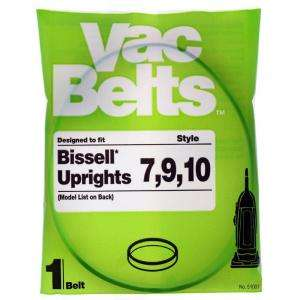 Micro Clean Bissell 7, 9, 10 Vacuum Belt for Upright Vacuums 51007 at