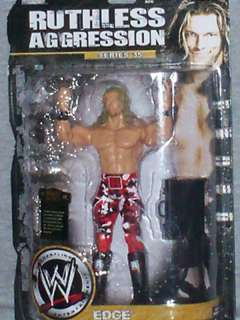 WWE FIGURE RUTHLEES AGGRESSION EDGE SERIES 35