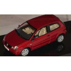 VW VOLKSWAGEN POLO 9N ROT RED 1/43 AUTOART AUTO ART MODELLAUTO MODELL