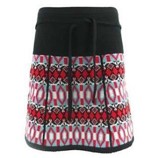 King Louie Strick Rock PATCH SKIRT JACKIE KNIT black