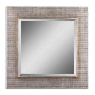 33 in. x 33 in. Champagne Finished Square Framed Mirror 11599 B at The