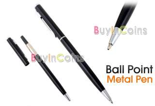 Retractable Metal Ball Point Ballpoint Pen 0.8MM Gift