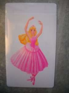 DISNEY PRINCESS BALLERINA WALL BORDER + 6 ROOM DECALS