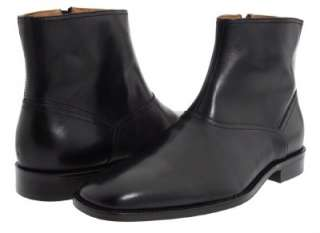 2012 SEASON JOHNSTON & MURPHY KNOWLAND PLAIN TOE MENS BLACK ANKLE