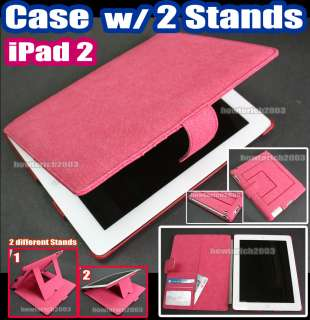 Flip Case Smart Cover +2 STAND+Card holder for Apple iPad 2