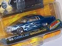 Jada Dub City 164 Blue Flamed 85 Cadillac Brougham Platform Variant