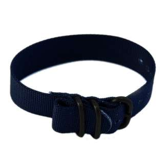 22mm Nylon Watch Band Tactical Strap PVD   MANY COLORS