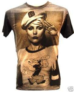 BLONDIE PoPEye Sailor 80s Indie VTG Punk Rock T Shirt M