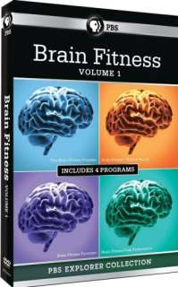 BRAIN FITNESS VOL 1 New 4 DVD PBS Explorer Collection 841887014519
