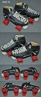 RTX 429 Roller / Speed Skates used 3 times MINT Size 8.