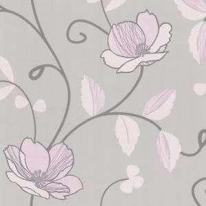 Tapete grau rosa