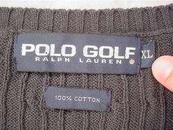 POLO Ralph Lauren Classic Golf Sweater Vest (XL)