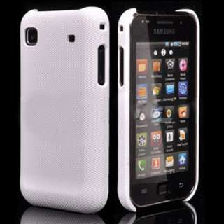 Galaxy S Plus i9001 Hardcase Schale Case Tasche Skin Cover Weiß