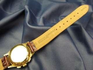 18kt Gold HEUER Chronograph Watch 17 Jewel Manual Wind #48