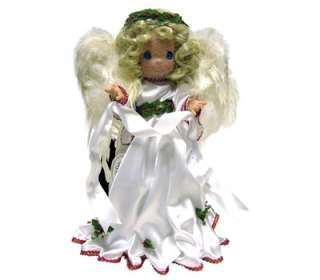 Precious Moments Christmas Feathered Angel Tree Topper