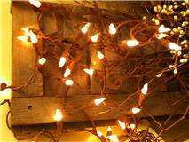 Cinnamon Bark Light Strand primitive grungy electric 35