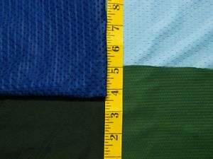 NEW Poly MESH Jersey moisture wicking fabric sportswear