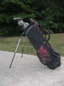 Callaway Mens Complete Right Hand Golf Club Set Stand Bag + Ping