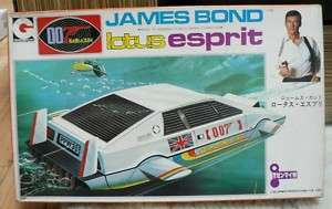 007 JAMES BOND The Spy Who Loved Me LOTUS ESPRIT JAPAN