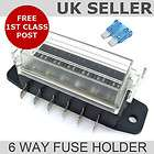 blade fuse box 6 way universal fuse holder location united
