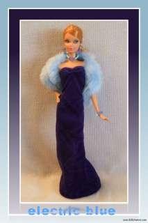 HANDMADE 5PC Custom FASHION Gown Jewelry Stole 4 BARBIE BASICS MODEL