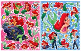 Disney Princess Mermaid Ariel Stickers/Decal/Cling Set