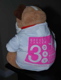 Komen 3 Day Breast Cancer Pink Pet Dog Shirt NWT S M L