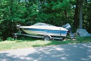 1994 Bayliner Capri 1700LS 17 Used Bowrider Boat & Trailer