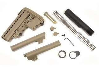 MOD Combo Rifle Stock Kit (Flat Dark Earth) (Mil Spec) AEBK MT