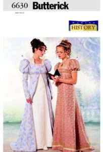 HISTORICAL Pattern TITANIC Petite Coat Dress 18 22 NEW
