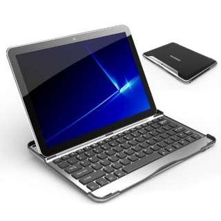 Wireless Bluetooth Keyboard Aluminum Case for Samsung Galaxy Tab10.1