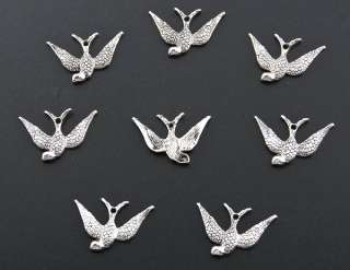 20 Tibetan Silver Birds Charms Pendants SB060