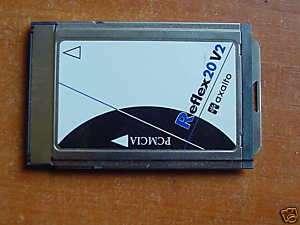 Reflex 20 Schlumberger PCMCIA Smart Card Reader