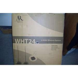 ACOUSTIC RESEARCH AR WHT24 2.4GHZ WIRELESS SYSTEM WITH