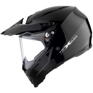 AGV AX8 Dual   Black Motorcycle Helmets   M